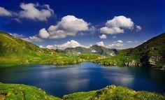 Goat lake , Fagaras Mountains - Romania