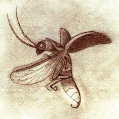 Michael Ramstead — Bug 5? Right? #sketch #drawing #insect #bug...