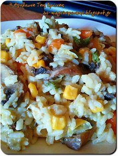 Η απόλαυση της βρώσης ~ Ας μαγειρέψουμε: Το ρυζότο μου
