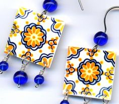 La Chapina Huipil Crafts: Mexican Tile Jewelry