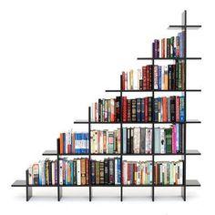 ideia-estante-para-livros-28 40 Ideias de estantes e prateleiras para livros decoracao-2 design dicas faca-voce-mesmo-diy interiores organizacao