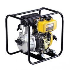 Kipor diesel motorpomp Type KDP30E (Elektrische start)