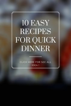 10 Lazy Autmn Dinners to Make Every Night in October #purewow #recipe #food #autumn #easy #dinner