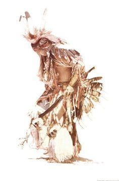 The Feather Dancer Fine-Art Print