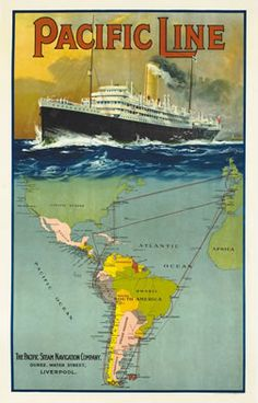Artist Unknown poster: Pacific Line