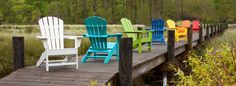 Shop our Polywood collection for eco-friendly, recycled milk jug furniture. Choose from Adirondack and rocking chairs for the best low-maintenance furniture. Home Depot Adirondack Chairs, Polywood Adirondack Chairs, Outdoor Dining Set, Outdoor Chairs, Outdoor Decor, Luxury Garden Furniture, Rustic Furniture, Polywood Outdoor Furniture, Teak