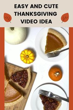 Post this stop motion video on your Instagram feed this Thanksgiving