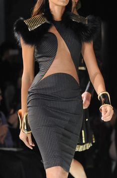 Versace Atelier Spring 2013 - Details