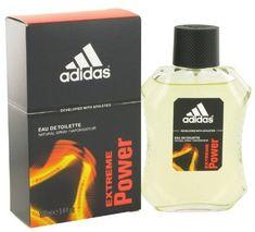 Adidas Extreme Power Eau de Toilette Spray for Men, 3.4 Ounce