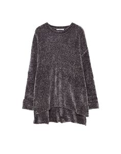 You can find 1 Chenille sweater with slits for only in Pull&Bear. Enter now and discover this and many other unique Pull&Bear pieces Pullover, Knitwear, Sweaters, Velvet, Clothes For Women, Knitting, Bear, Model, How To Wear