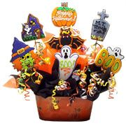 Halloween Gift Baskets | Besides making a Halloween gift basket yourself, you can get a ready ...