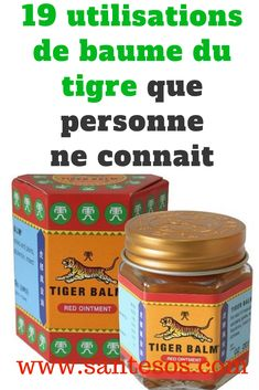 Health Discover 10 Utilisations du Baume du Tigre Que Personne Ne Connaît. Tiger Balm, Fitness Diet, Health Fitness, Anti Cellulite, Natural Medicine, How To Fall Asleep, Health And Beauty, Health Tips, Home Remedies
