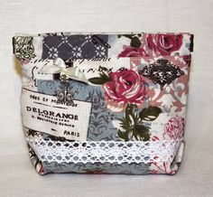 hand made cosmetic bag косметичка из льна