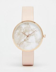Image 1 ofASOS Marble Face Watch
