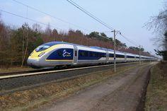 eurostar's 20th anniversary celebrated with pininfarina e320 train