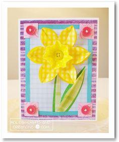 daffodil card...I love daffodil's!!
