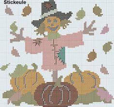 Scarecrow & Pumpkins