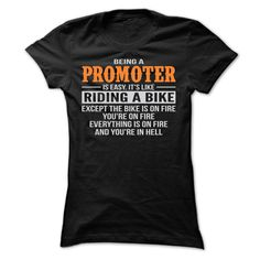 BEING A PROMOTER T-Shirts, Hoodies. ADD TO CART ==► https://www.sunfrog.com/Geek-Tech/BEING-A-PROMOTER-T-SHIRTS-Ladies.html?id=41382