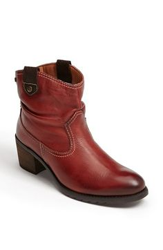 I so very much want a pair of red boots. These are awesome. PIKOLINOS 'Andorra' Western Bootie available at #Nordstrom