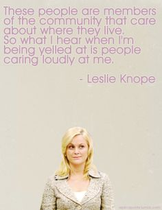Why Leslie Knope is my favorite character on TV