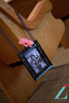 Pew Marker by Weddings by Jennifer, via Flickr  www.zilphotography.com/