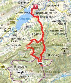 Karte / Vom Grüntensee zur Reuterwanne