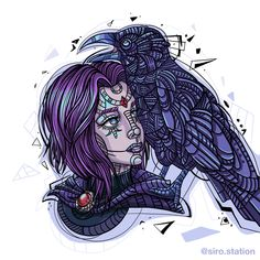 Raven fan art #illustration #Ilustracion #dibujo #drawing #ipadpro #ClipStudioPaint #Digitalart #Arte #art #Artedigital #ColombianArtist #ArtistaColombiana #lineart #Ipadpro #doodlessketches #WorkInProgress #boceto #TrabajoEnProgreso #raven #fanart #teentitans #ipadart #ipadartist #cuervo #animal #color #purple #purplehair #instagramartist