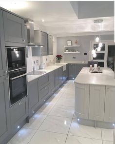 Everything About New Kitchen Renovation Ideas Do It Yourself Large Open Plan Kitchens, Open Plan Kitchen Diner, Open Plan Kitchen Living Room, Kitchen Room Design, Modern Kitchen Design, Home Decor Kitchen, Interior Design Kitchen, Kitchen Ideas, Kitchen Island
