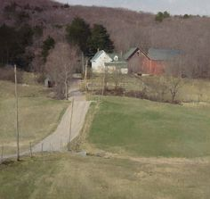 """Early Signs of Spring"" by T. Allen Lawson    Rob, looks like Dunker Valley Road."