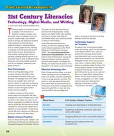 21st Century Literacies: Technology, Digital Media and Writing