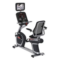 Zzz  Star Trac E-RBi Recumbent Bike with Personal Viewing Screen and MFi