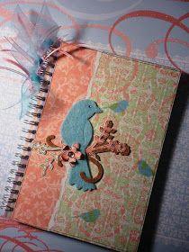Papel, tarjetas y scrapbook...: Pàjarito en su rama...