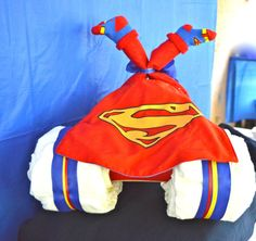 Superman Diaper Cake. Superman Baby ShowerBaby ...