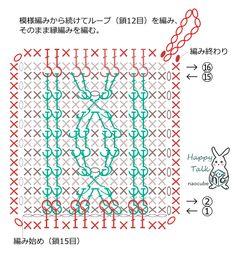 アラン模様風のアクリルたわしの作り方 手順|1|編み物|編み物・手芸・ソーイング|ハンドメイドカテゴリ|ハンドメイド、手作り作品の作り方ならアトリエ