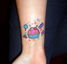 Cupcake & candy! by lickmycupcakes, via Flickr