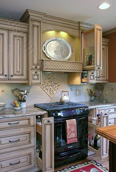 Custom Made Kitchen Cabinets build your own distressed kitchen cabinets; custom made details