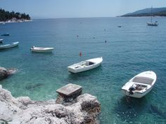 Wonderful colours of the sea in Rabac, Croatia Visit Croatia, Boat, Colours, Places, Dinghy, Boats, Lugares