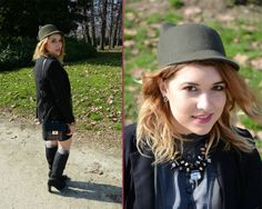 http://www.fashiondupes.com/2014/02/milan-fashion-week-outfit-day-5.html #ootd #ootn #outfit #style #military #mfw #fw #fashionweek #milanfashionweek #streetstyle #fashionblogger