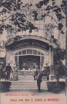 Expo Milan 1906, Chiosco della Ditta G. Alberti di Benevento