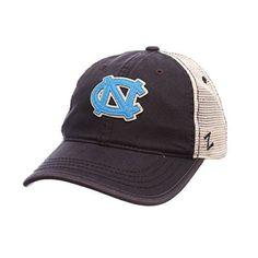 NCAA-North-Carolina-Tar-Heels-Mens-Summertime-Hat-StoneNavy-Adjustable