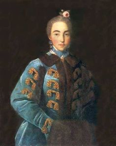 Argunov portrait of Sheremeteva