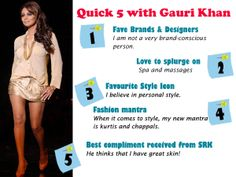 In an interview with iDiva.com, #GauriKhan talks to us about her love for #charity, #design and more.