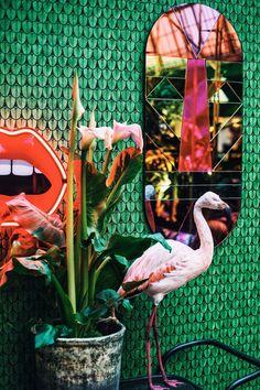 Exotische hotspot: The Streetfood Club in Utrecht World Of Interiors, Utrecht, Chinoiserie, Kitsch, Estilo Hollywood Regency, Bar Interior Design, French Style Homes, European Home Decor, European Cafe