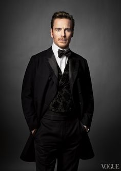 Michael Fassbender From the Archives: 2014 Oscar Nominees in Vogue - Vogue Daily - Fashion and Beauty News and Features