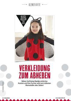 Nähanleitung Marienkäfer Kostüm