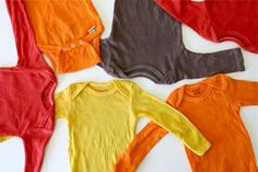dyed onesies!  why haven't i already thought of this?!