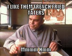 Slingblade is a must watch! Movie Memes, Movie Quotes, I Movie, Funny Memes About Life, Funny Jokes, Hilarious, Funny Cute, The Funny, General Quotes