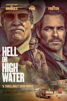 Hell Or High Water, Movie on DVD, Drama Movies, Suspense
