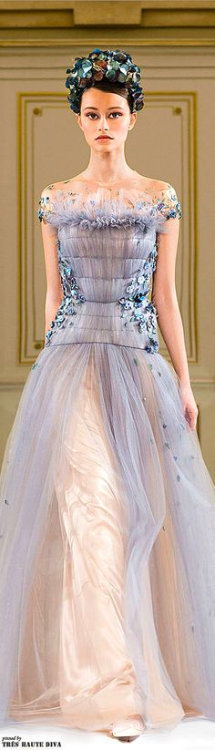 Yulia Yanina SS 2014 Couture | House of Beccaria#