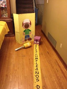 DIY Handy Manny Birthday props